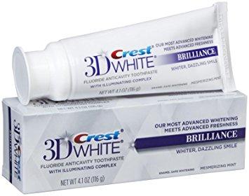 Crest 3D White Brilliance pasta de dientes - pasta de dientes para blanquear los dientes