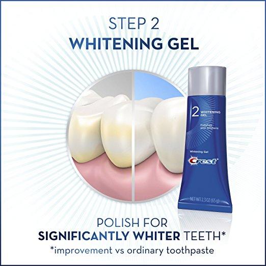 Crest esmalte de blanqueamiento dental