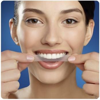 tiras de blanqueamiento dental Crest